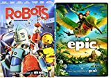 Epic & Robots Cartoons from the creators of Ice Age DVD Animated Set