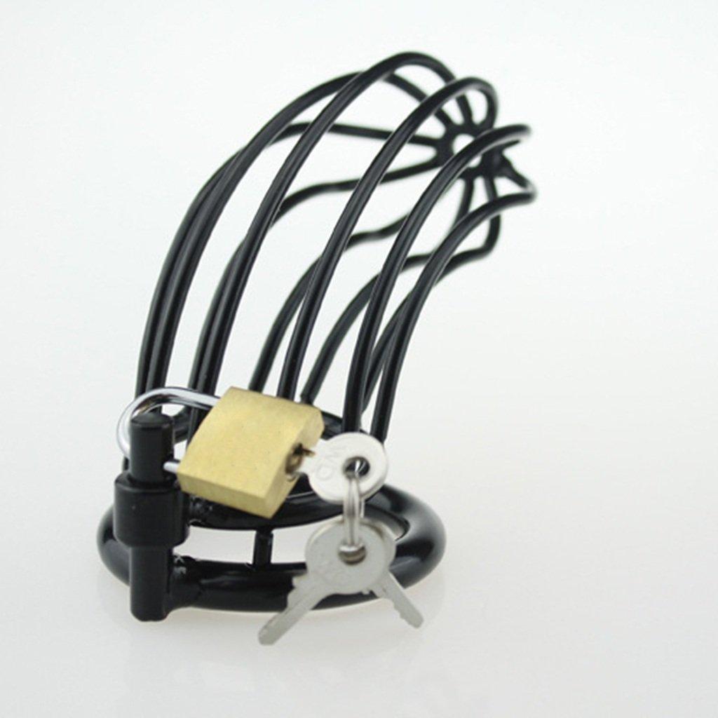 HQCC De Cerradura De Castidad, Acero Inoxidable Metálico, Macho, Cinturón De HQCC Castidad, Productos Para Adultos, Jaula De Pollo, (40 Mm, 45 Mm, 50 Mm) (Tamaño : 45mm) 16834a