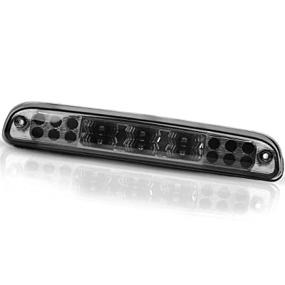 LED 3rd Brake Light Compatible with Ford F250 F350 F450 F550 Super Duty 1999-2016, Ranger 1993-2011, Ford Explorer 2001-2005, Mazda B-Series 1993-2010 High Mount Third Stop Cargo Lamp Smoked ATBL1004: Automotive