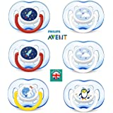 Philips Avent SCF186/24 - Pack de 2 chupetes decorados con ...