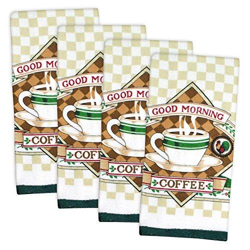kitchen towel sets coffee - 5
