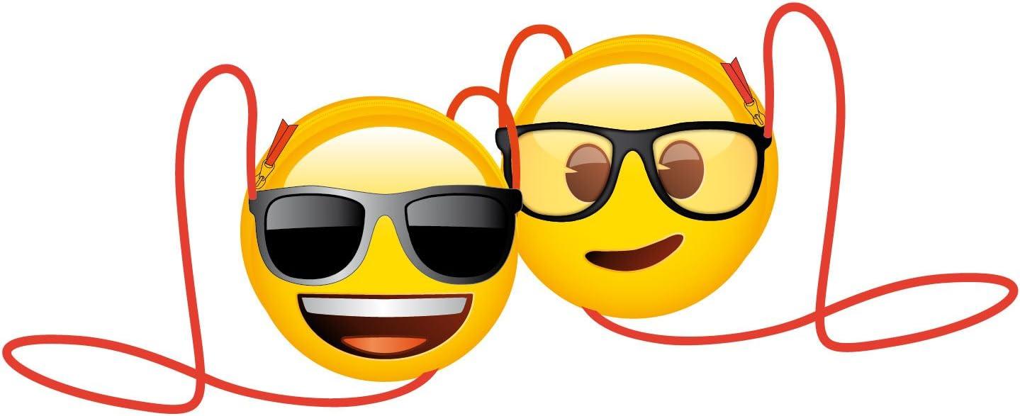 Bolsito Emoji para ni/ños//as bandolera color Amarillo