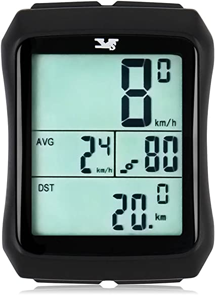 1 Each Bell Sports 14 Function Bicycle Speedometer//Odometer Computer