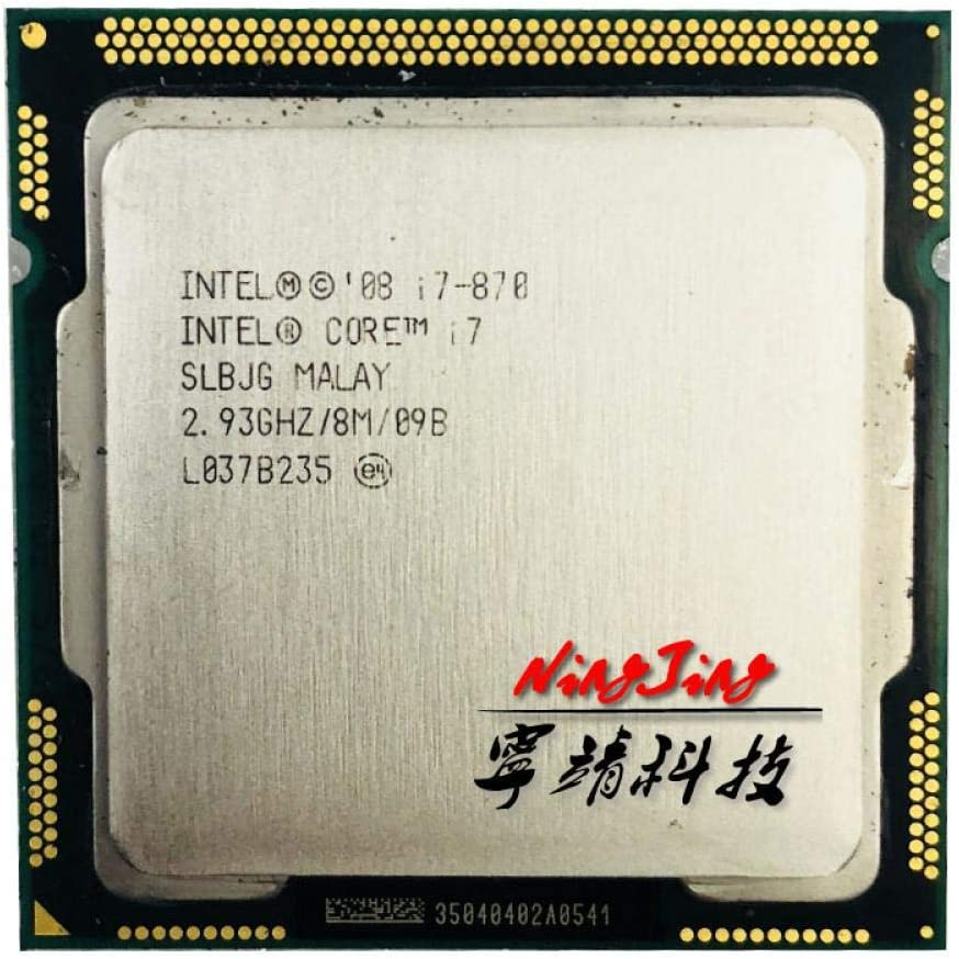 Intel Core I7-870 I7 870 2.9 GHz Quad-Core CPU Processor 8M 95W LGA 1156