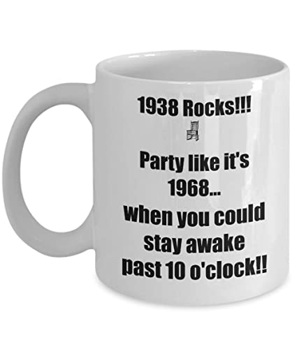 Happy 80th Birthday Mug 80 Year Old Born In Coffee Tea Cup Gift Ideas For Women