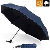 Cute Hot Dog Automatic Tri-Fold Umbrella Parasol Sun Umbrella Sunshade