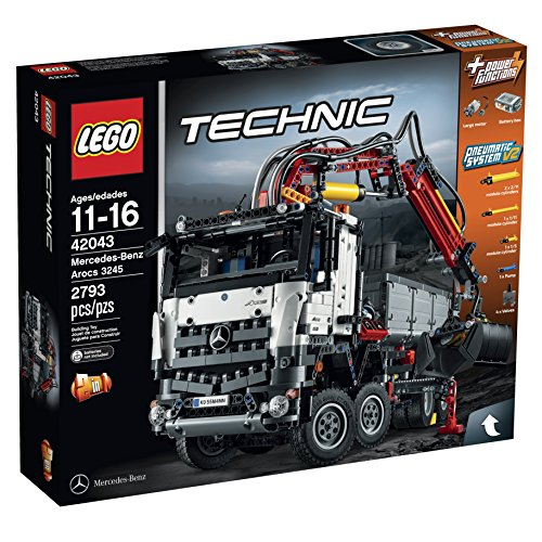 LEGO Technic 42043 Mercedes-Benz Arocs 3245 Building Kit(Discontinued by manufacturer)