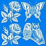 UV Bird Alert Collision Window Decals