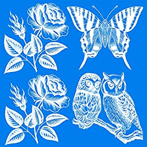 Amazoncom UV Bird Alert Window Decals Kitchen Dining - Window alert hummingbird decals amazon