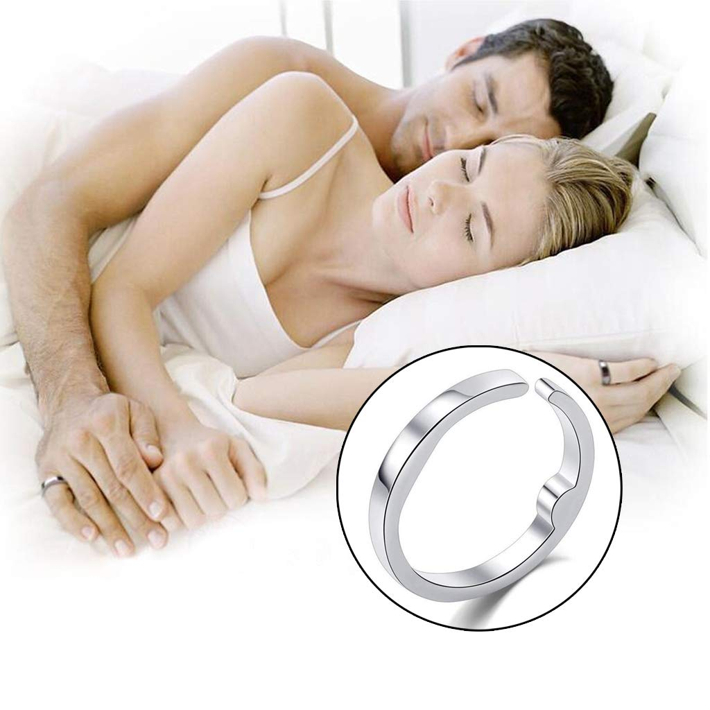 anillo antirronquidos que mejora el sue/ño. FURU Anillos hombre y mujer
