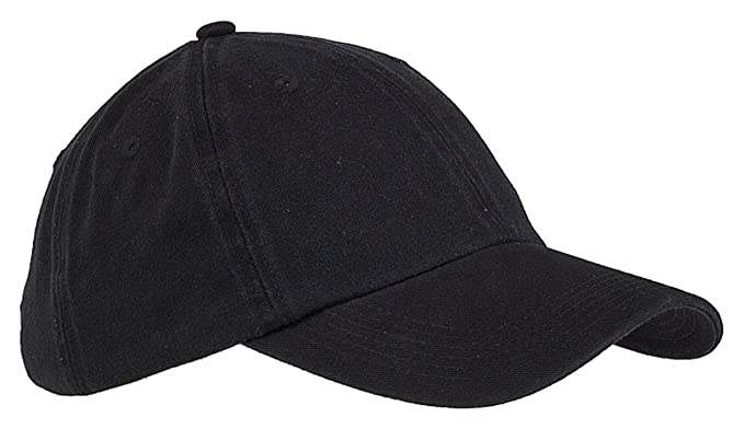 low profile baseball caps womens high blank big accessories panel washed twill cap black one size amazon