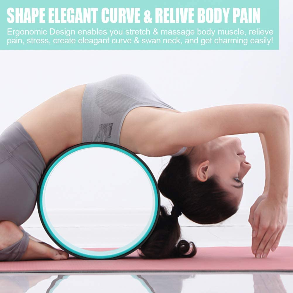 Strong & Comfortable Backbends & Yoga Poses Support 500LBS 500.500x50 ...