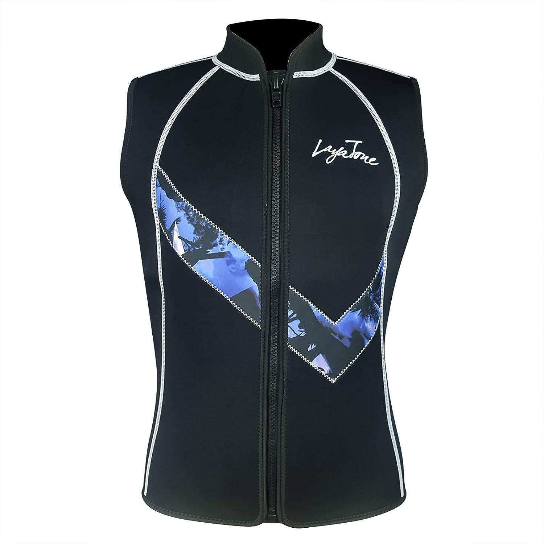2MM Neoprene Sleeveless Men Women Wetsuit Scuba Dive Vest Snorkeling XL