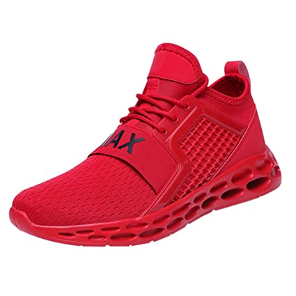 c30cce4a9b5b9 Amazon.com: Men's Breathable Sneakers,Mosunx Athletic Boys Size 7-10 ...