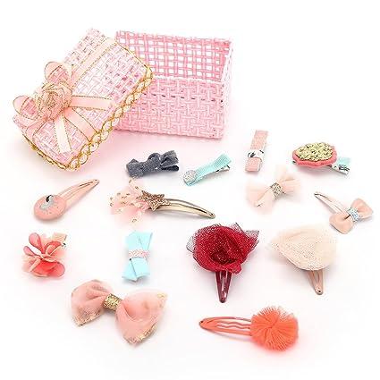 kimmyku infantil Pasadores Clips de pelo lazos accesorios ...