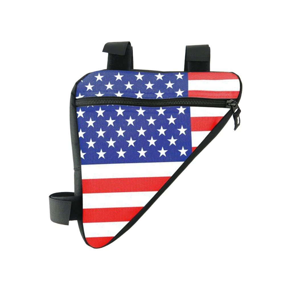 Smartcoco Cycling Bike Bicycle Front Frame PVC Tube Triangle Bag Black Red Blue Green
