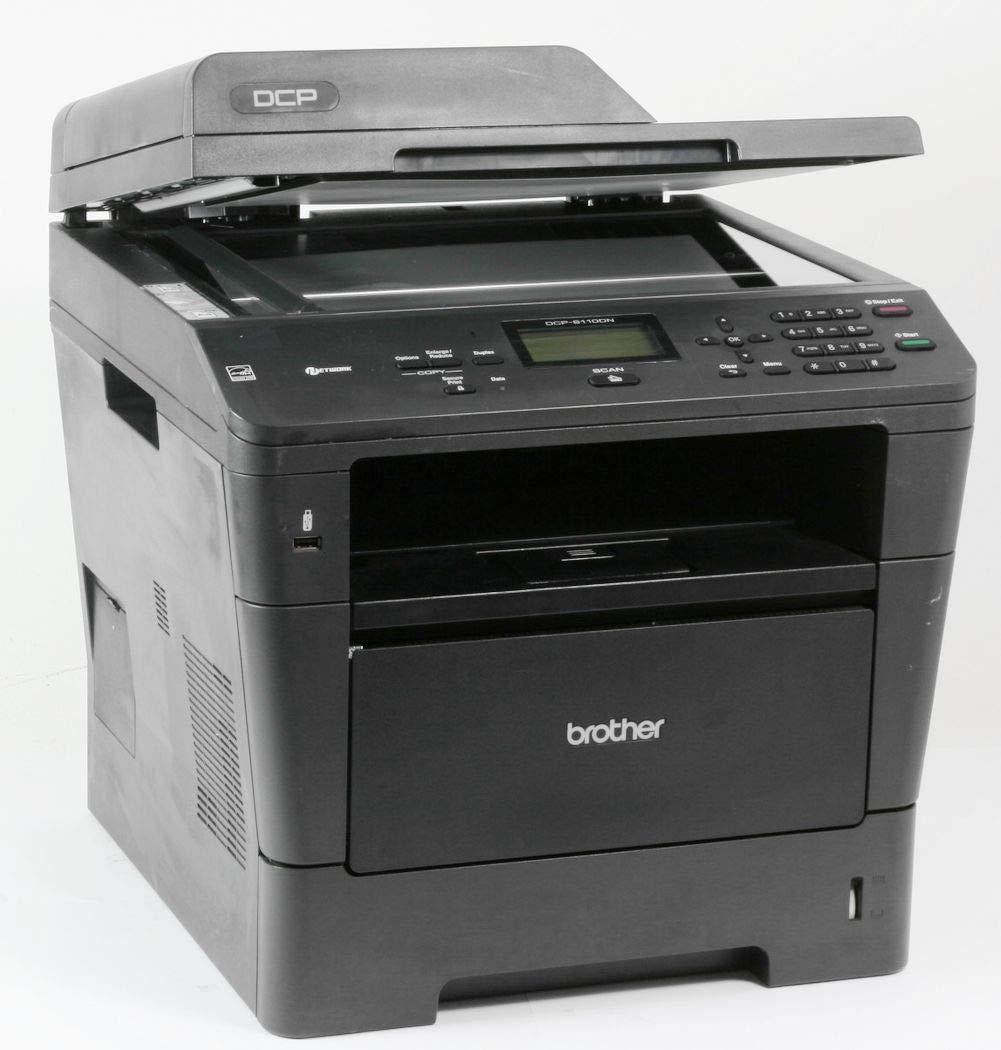 Brother DCP8110DNG1 - Impresora multifunción de Tinta (1200 x 1200 dpi, 35 ppm, WiFi), Color Negro