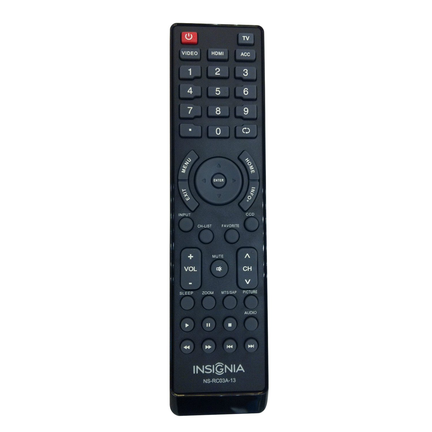 Amazon.com: NEW remote NS-RC02A-12 remote For INSIGNIA LED and LCD TV  NS-32L120A13 NS-40L240A13 NS-32E320A13 NS-19E320A13 NS-39L240A13  NS-42E440A13 ...