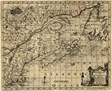 1758 map A map of New England, and Nova Scotia; with part of New York, Canada, and New Britain & the adjacent islands of New Found Land, Cape Breton &c.