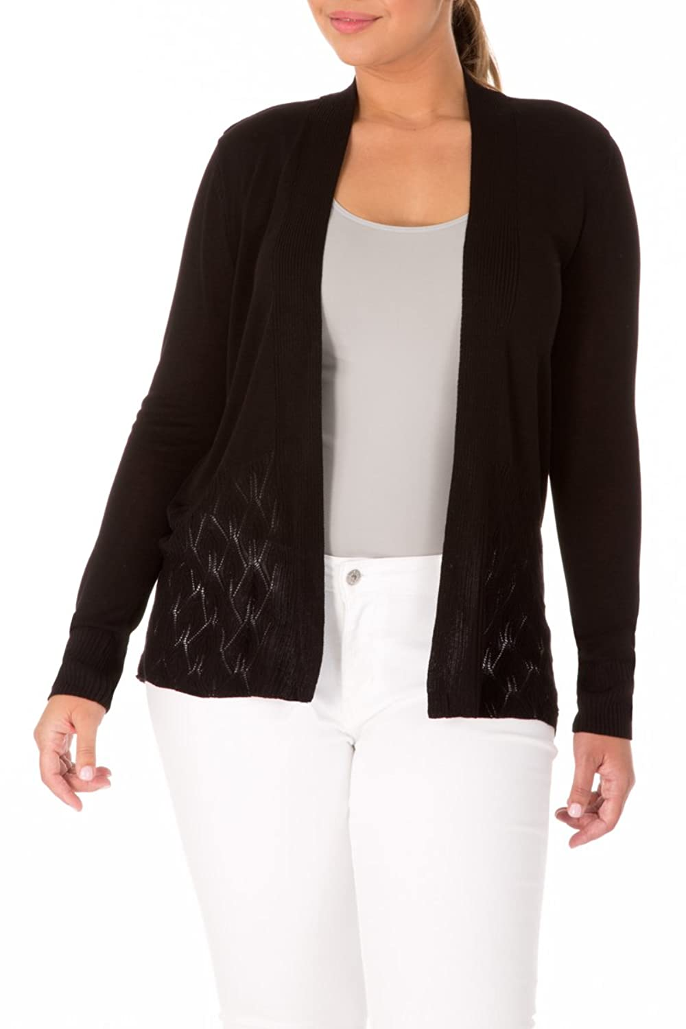 89th & Madison Open Front Cardigan