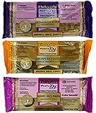 Tinkyada Gluten-Free Rice Spaghetti 3 Flavor Variety Bundle, 1 Each: Brown Rice, Brown Rice Spinach, White Rice (12-16 Ounces)