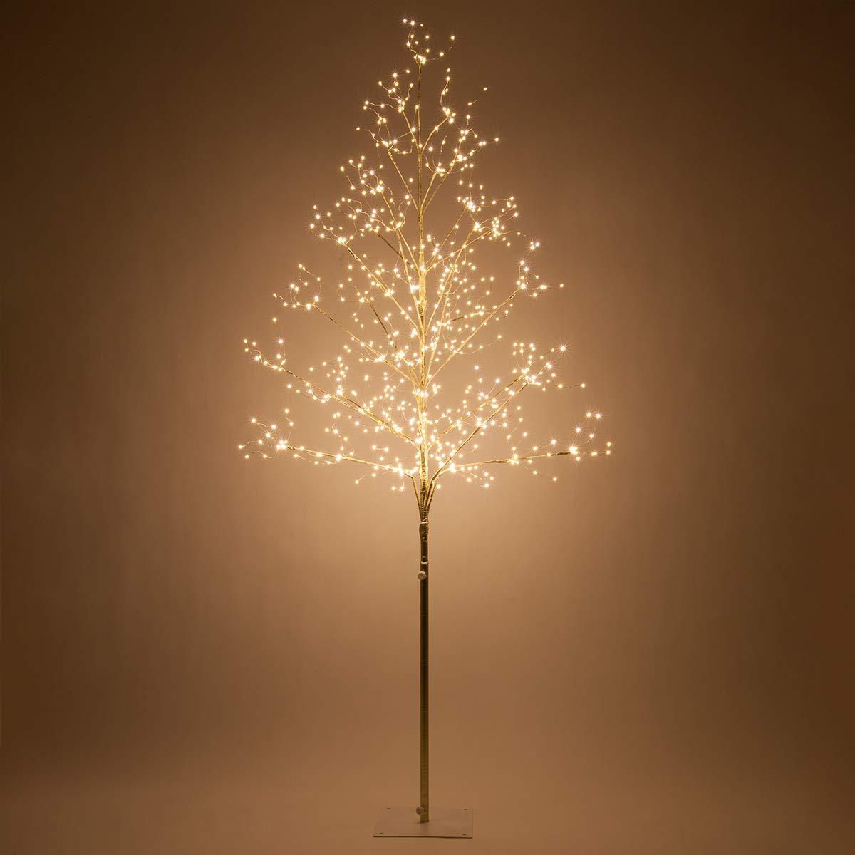 Fairy Light Tree Indoor Outdoor Decor Lighted Tree With Fairy Lights Globe Light Tree Light Ball Tree With Globe Lights 6 Ft Gold Fairy Light