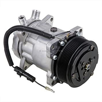 New Premium Quality AC Compressor /& A//C Clutch For Freightliner Sanden Style