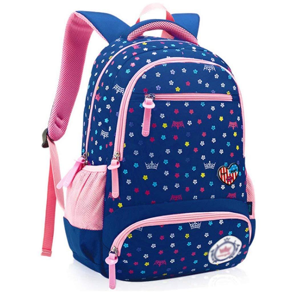GYH Zaino-Zaino per bambini Studenti delle scuole elementari Grado 1-6 Riduzione per bambini Borsa per bambini ultraleggeri Borsa per studenti di grande capacità [quattro colorei Opzionali] Schoolbags