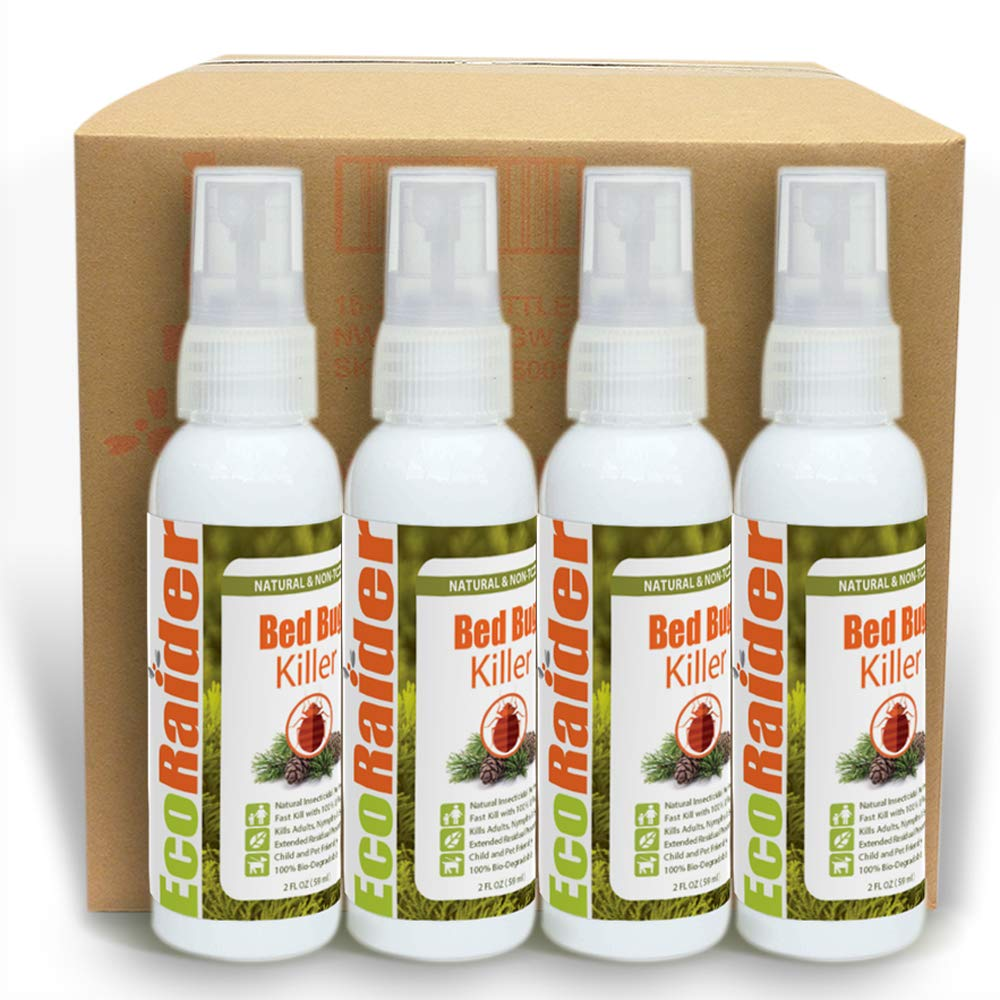 Bed Bug Killer by EcoRaider (Case of 16 (2 OZ))