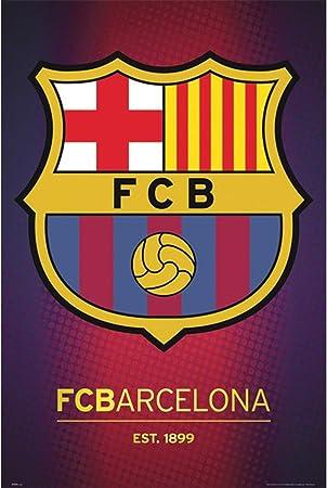 GB Eye, Barcelona FC, Club Escudo 2013, Maxi Poster, 61x91.5cm: Amazon.es: Hogar