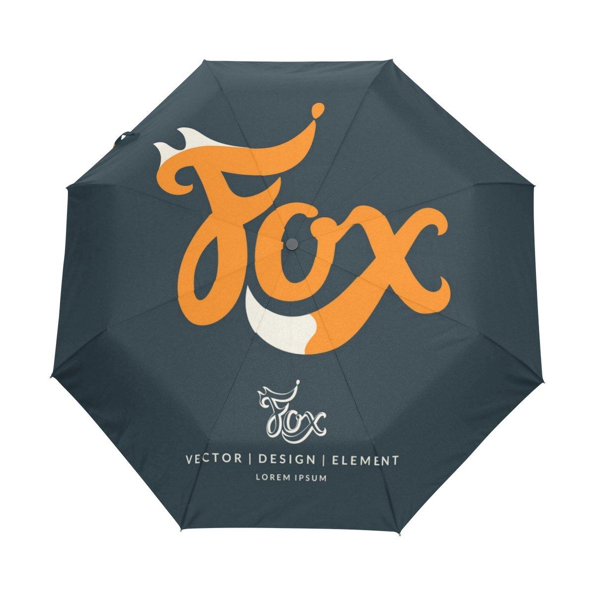 a0ec5c0d8a high-quality Cooper girl Art Fox Windproof Travel Umbrella Auto Open ...