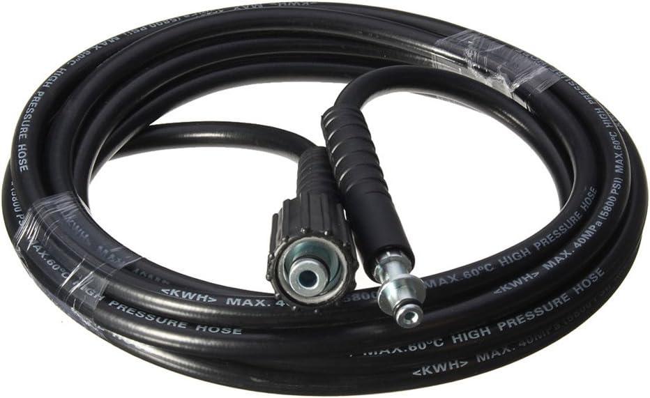 JOOBEE 5M 5800PSI//160BAR Rondella ad alta pressione Tubo di Ricambio Accessori per Karcher K2 Cleaner