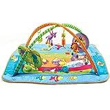 Tiny Love Gymini Kick & Play Palestrina Bambini Musicale, Tappeto Gioco Extra Large, 0+, Multicolore