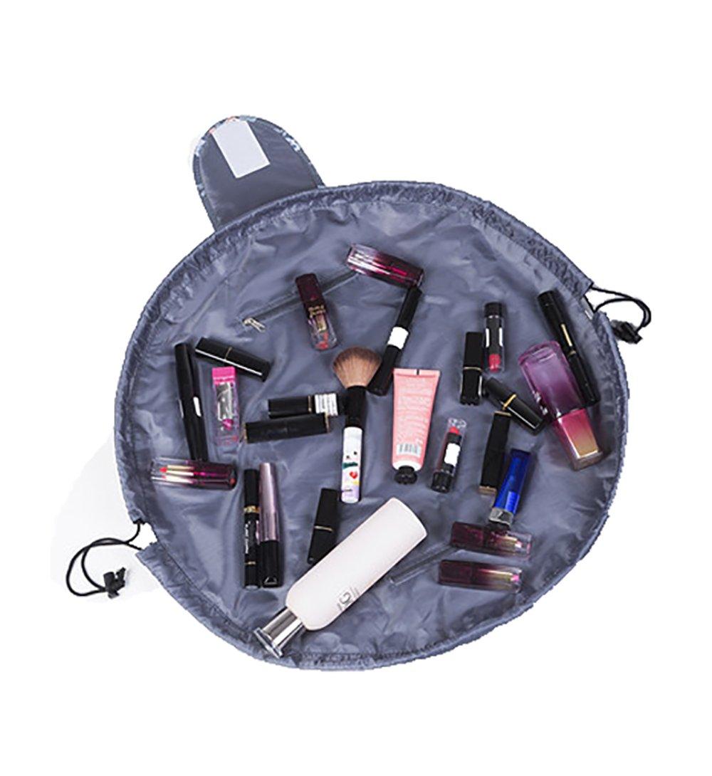 94019e17f892 Lemoncy Lazy Portable Makeup Bag Waterproof Drawstring Cosmetic Bag ...