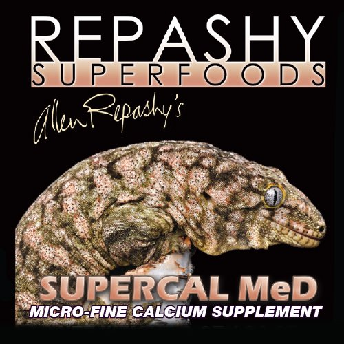 Repashy SuperCal MeD - All Sizes - 17.6 oz. (1.1 lb) 500g JAR by Repashy