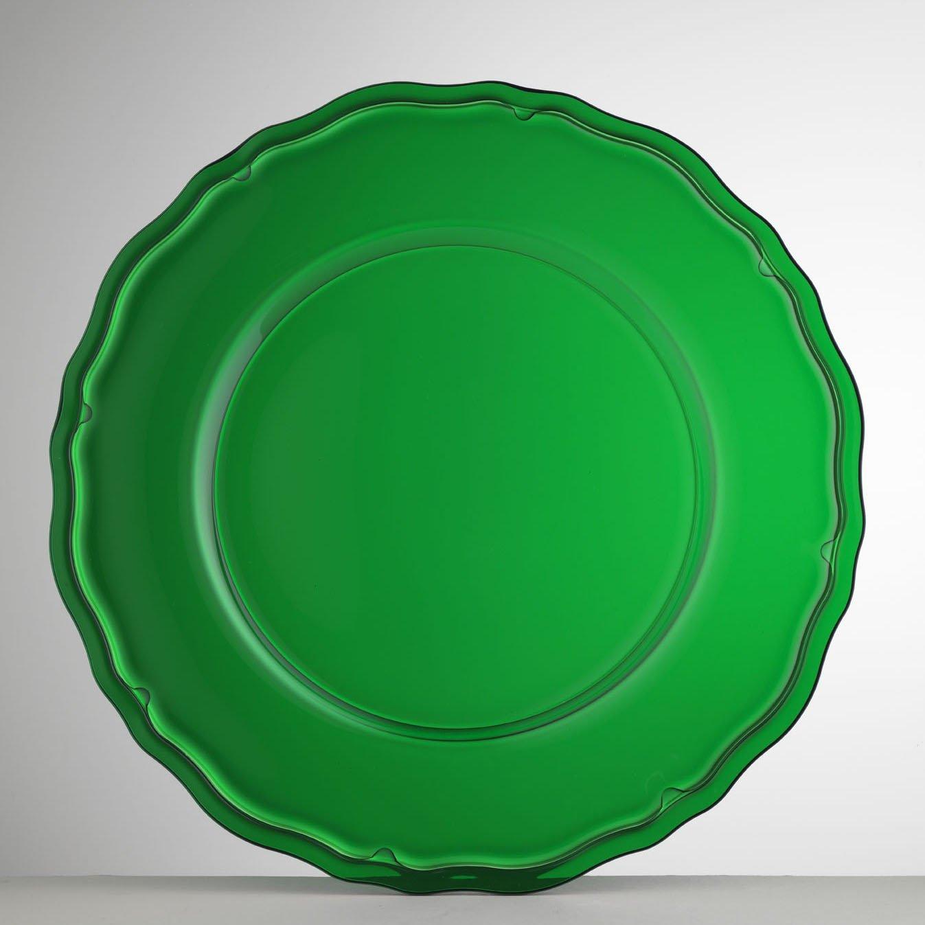 Mario Luca Giusti Set 6 Giotto Plate Green