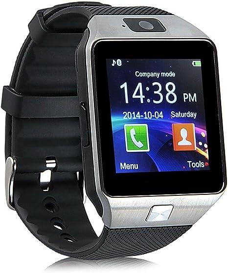 Amazon.com: Reloj inteligente WJPILIS DZ09 con pantalla ...
