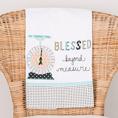 Glory Haus 7080521 Blessed Beyond Measure Tea Towel, Multicolor