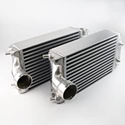 Twin Left & Right Turbo Aluminum Intercooler Kit For 2001-2009 PORSCHE 996 997 TT