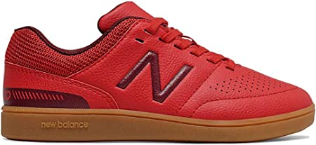 New Balance Audazo v4 Control IN Niño, Zapatilla de fútbol Sala, Team Red