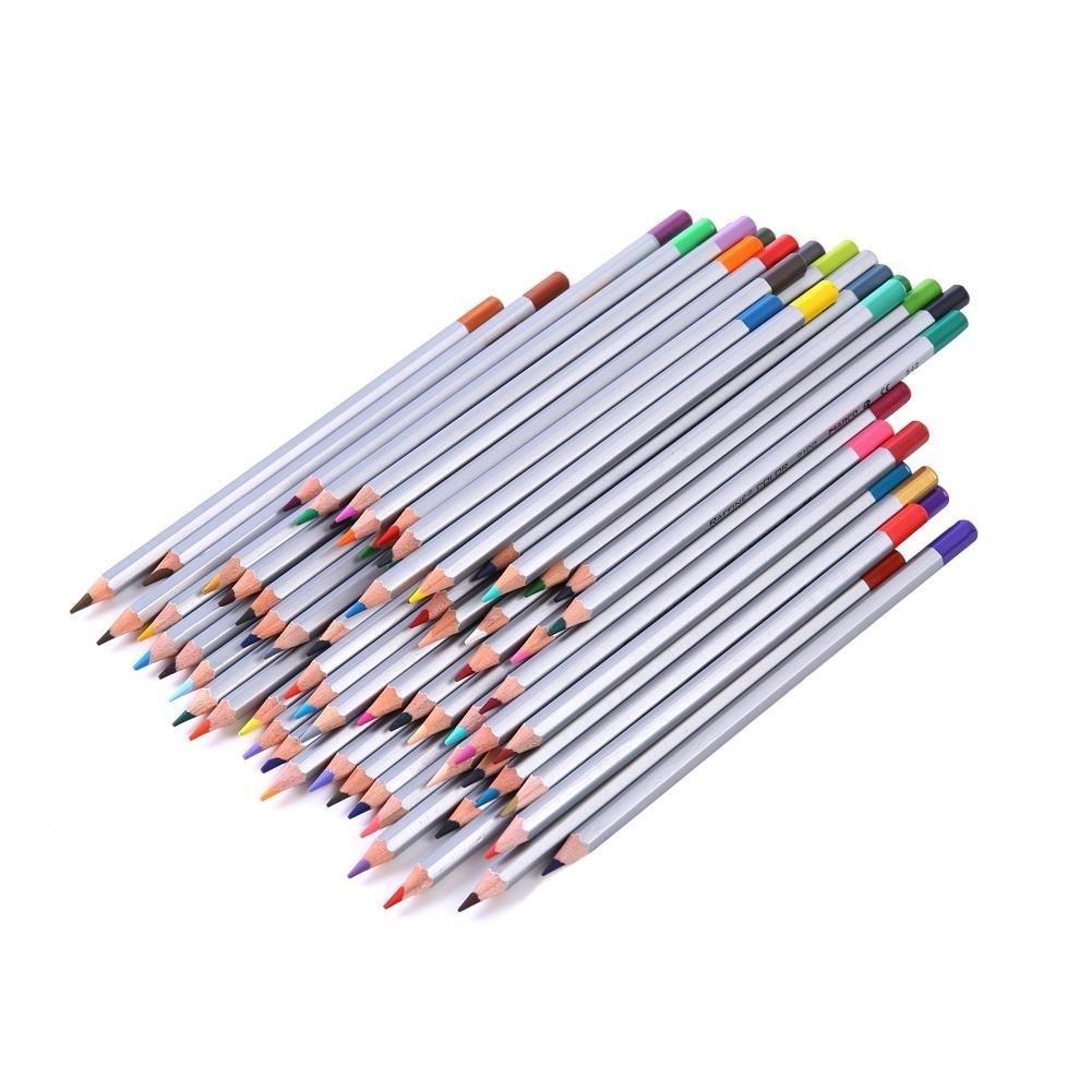 Color art colored pencils - Amazon Com Heartybay Colored Pencils Set Drawing Pencils 72 Assorted Colors