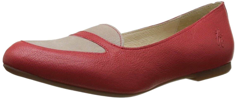 FLY Rot London Damen Maya902fly Peep-Toe Rot FLY (Scarlet/Concrete 002) 88a239