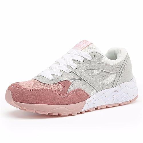 Moonwalker Zapatillas De Deportes para Mujer Gimnasio Correr: Amazon.es: Zapatos y complementos