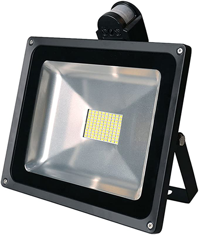2X 80W SMD Foco LED con Sensor Movimiento,Proyector LED Exterior ...