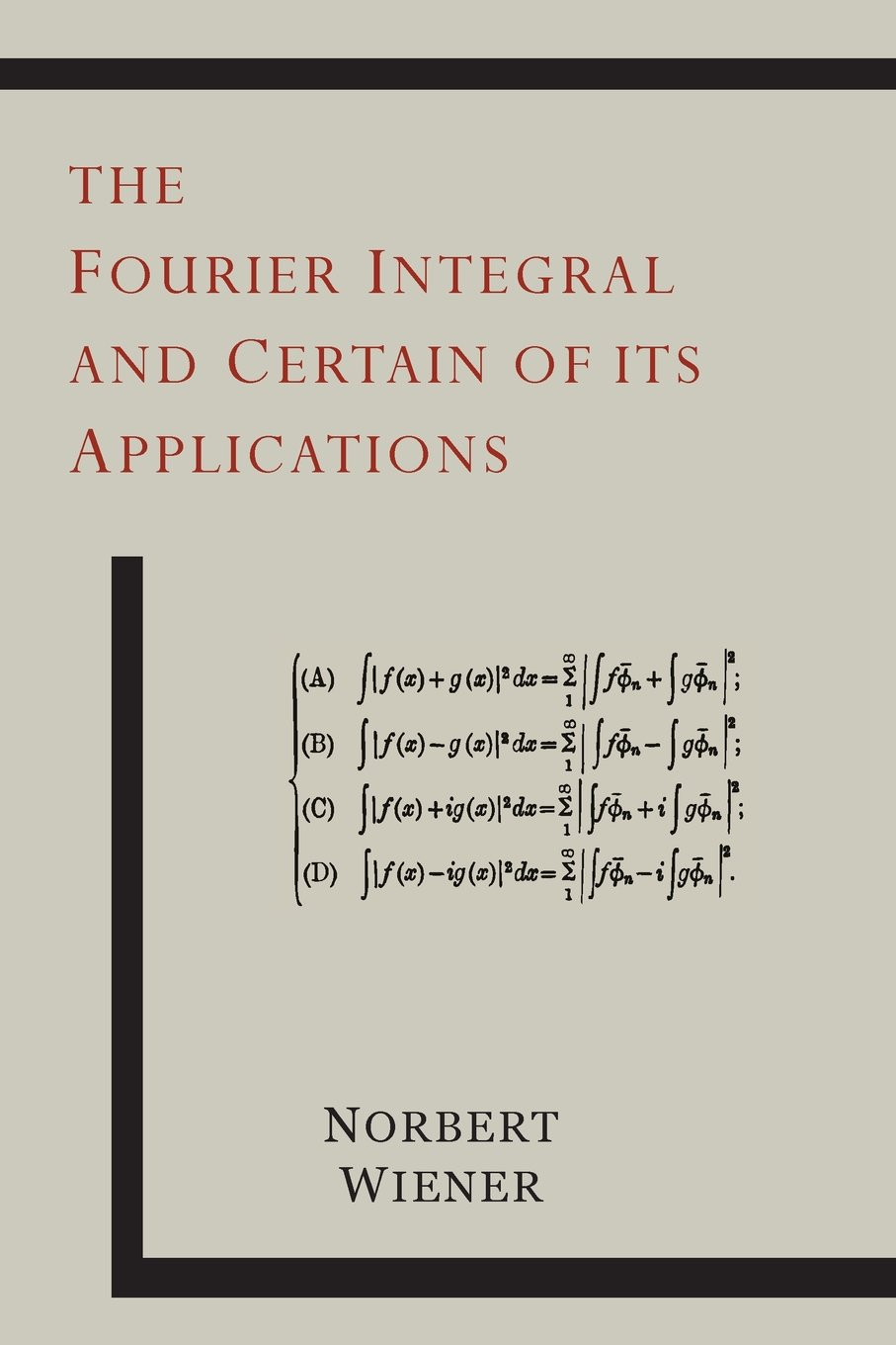 Fourier integral and applications