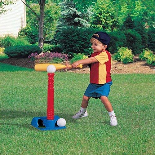 Little Tikes TotSports T-Ball Set, Red