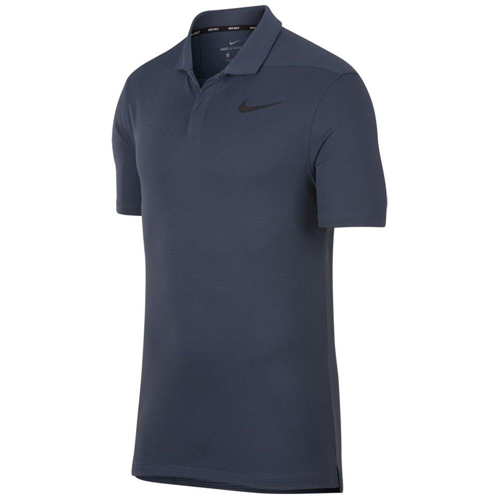 01ec4357 Amazon.com : Nike Men's AeroReact Stripe Golf Polo : Clothing