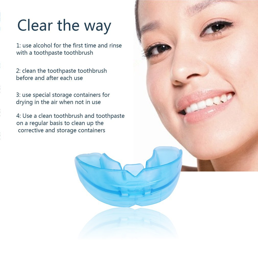 Blue Silicone Environmental Dental Orthodontic Teeth Braces Tooth Retainer hou zhi liang