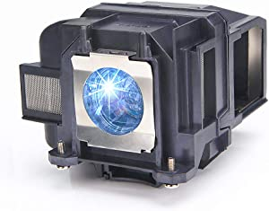 Huaute E78 Projector Replacement Lamp with Housing for Epson ELPLP78 PowerLite Home Cinema 2030 2000 730HD 725HD 600 VS230 VS330 VS335W EX3220 EX6220 EX7220 EX7230 EX7235 EX5220