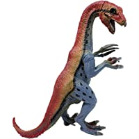 Smartcraft Dilophosaurus Raptor Dinosaur Action Figure Toy 8 Inch- Green, Realistically Detailed Animal Action Figure